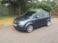 2005 Audi a2 sport 1.4 alloys service grey PX welcome
