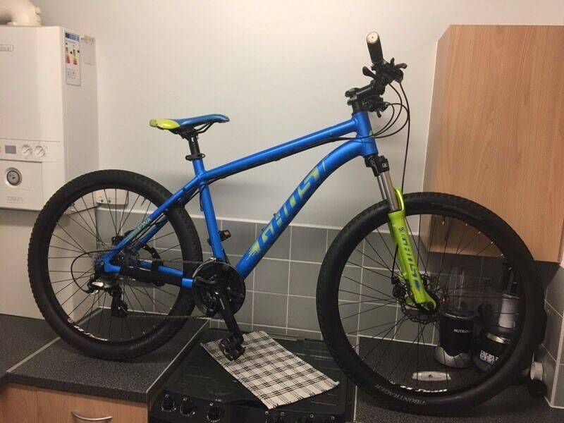 Bike GHOST MTB SALE OR SWAP FOR IPHONE 6in Clapham, LondonGumtree - BIKE GHOST MTB VERY GOOD CONDITION FRONT SUSPENSION DISC BRAKES 24SPEED GOOD On ROAD AND OFF ROAD SALE OR SWAP FOR IPHONE 6 ON O2 OR UNLOCKED £250 ONO THANKS