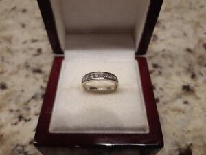 14k Diamond Anniversary Ring