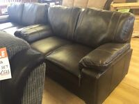 Brand new***3+2 brown leather suite---BARGAIN---ONLY £530---CALL TODAY!!!