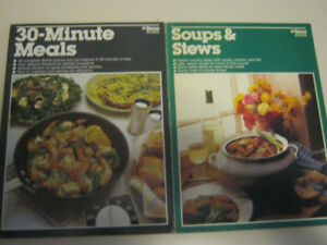 30 Minute Meals and Soups and Stews