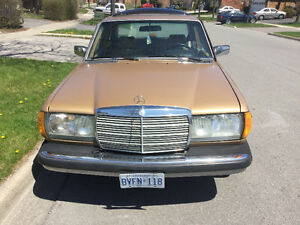 Rare classic Mercedes Benz 300 Turbo Diseal for sale
