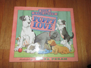 Puppy Love - Dick King Smith  HC/DJ  Great Dane with all breeds