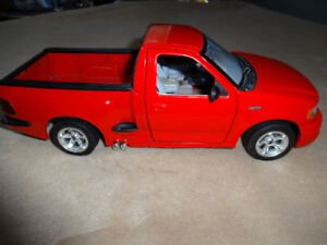 scale 1,18 die cast ford pick up s v t F 150 made in italyby bu
