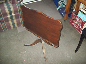 "Vintage ""Flip Top"" table"