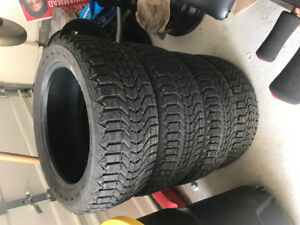 """Winterforce snow tires 16"""" for $200"""