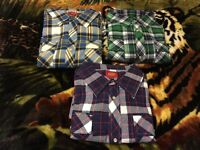 New with tags Dickies flannel shirts