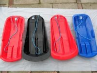 Job lot of snow sledges