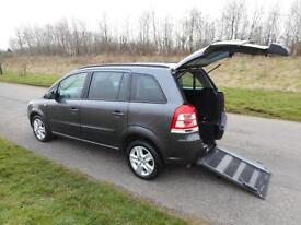 2012 62 Vauxhall Zafira Exclusive 1.6 *4 SEATS* WHEELCHAIR ACCESSIBLE WAV