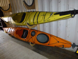 Current Designs Breeze kayak, immaculate condition, with rudder