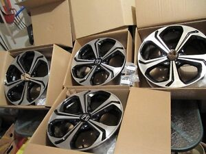 2014-2015 civic si 18inch oem rims in box West Island Greater Montréal image 1