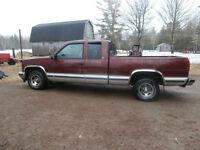 1997 Chevrolet Silverado 1500 chrome Pickup Truck