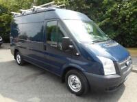 '13 Ford Transit 300 medium wheelbase/medium roof 125ps/6speed only 35000 miles