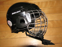 Bauer Combo Hockey Helmet and Face Guard, Jr