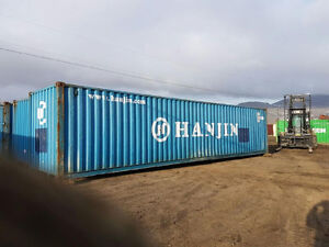 40' Standard or 40' HC Storage Containers