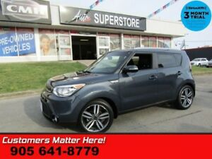 2015 Kia Soul SX  NAV CAM LEATHER PANO-ROOF HS BT ALLOYS