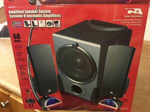 Amplified Speaker system for PC