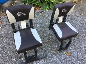 Clam Ice fishing shelter seats - 2