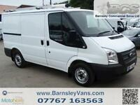 2012 62 FORD TRANSIT T300 SWB 100PS EX BT TWIN SLD 31K FULL HISTORY