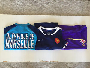 European team soccer/rugby shirts for sale