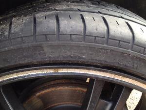 4 All season tires 225/35/20 Altenzo Sport Comforter(No rims)