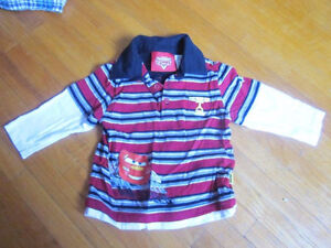 Lightning McQueen 2 Piece Outfit Size 2T