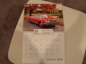 New 2009 DODGE MUSCLE CARS CALENDAR                       x2 Sarnia Sarnia Area image 7