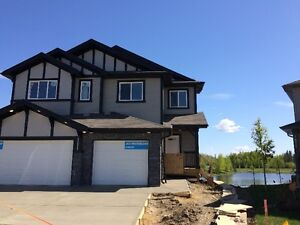 NEW DUPLEX WITH WALK OUT IN STONY PLAIN $359,900