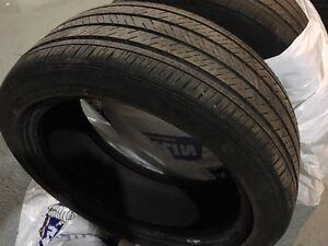 Two Michelin Pilot MXM4 All Season Touring Tires - 215 45R17 87V