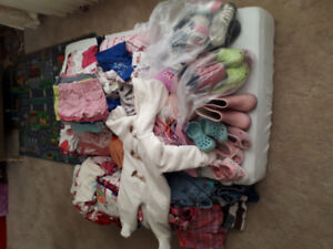 Girl's clothing 0-2.5 years old. shoes&winter suit