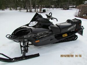 Super Maintained sled with major accessories woman driven