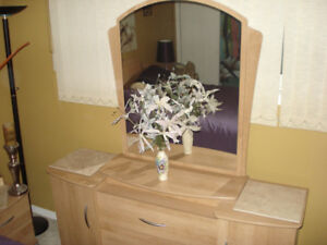 Dresser and Mirror (Like New)