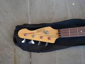 Encore 3/4 size Bass Guitar Black