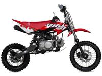 WELSH PIT BIKE 110CC BOYO,MANUAL GEARBOX, GREAT XMAS PRESENT (AT MOTOCROSS)
