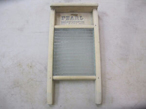 Small Vintage Washboard