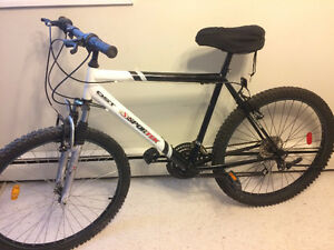 Sportek 18 speed mountain bike, (26 Inch tires)