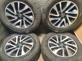 18 inch Genuine Nissan Navara Alloy Wheels