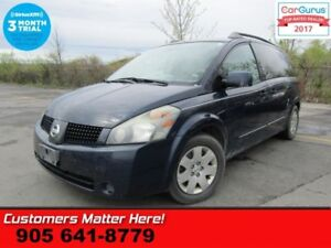 2006 Nissan Quest 3.5  AS IS (UNCERTIFIED) AS TRADED IN
