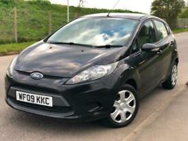 image for 2009/09 Ford Fiesta 1.25 ( 60ps ) Style Low Mileage 5 Doors Black