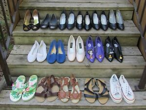 Shoes, Womens dress shoes, sandles and running shoes
