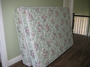 double mattress & box spring