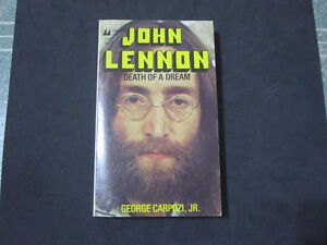 John Lennon--Death Of A Dream-Softcover Book--Mint Condition