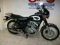 KAWASAKI W800 AGF 66-REG ONLY 7053 MILES £5999. (FREE UK DELIVERY)
