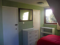 Large Double room with TV and WIFI