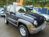 2006 56 JEEP CHEROKEE 2.8 CRD SPORT IN BLUE # FULL SERVICE HISTORY #