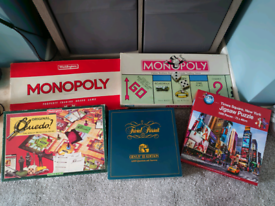 Vintage board games New Puzzle. Family games. MONOPOLY