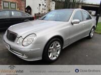 MERCEDES E CLASS E500 AVANTGARDE, Silver, Auto, Petrol, 2004 RARE CAR