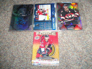 I have 8 diecuts to sell.. Erik Karlsson 4  cards Sarnia Sarnia Area image 2