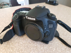 Canon 60d kit complet de photo!