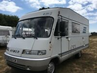 HYMER B584 A type Right Hand Drive 1995 2/3 Berth.